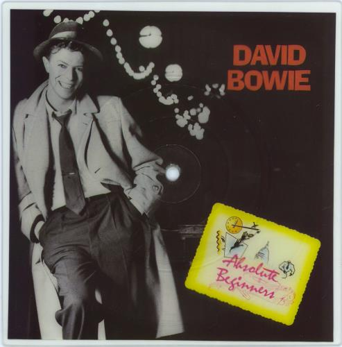 David Bowie Absolute Beginners shaped picture disc (picture disc vinyl record) UK BOWSHAB771462