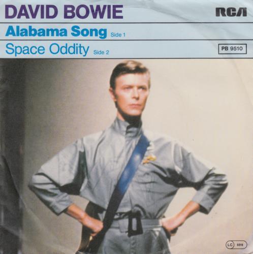 """David Bowie Alabama Song 7"""" vinyl single (7 inch record) German BOW07AL650461"""