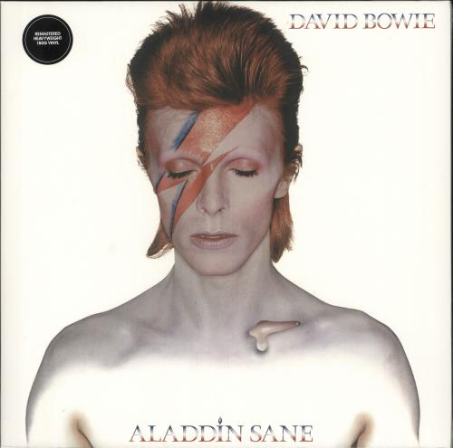 David Bowie Aladdin Sane - 180g - Sealed vinyl LP album (LP record) UK BOWLPAL724285