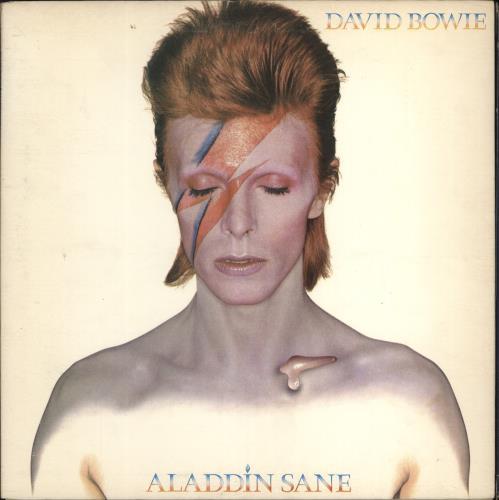 David Bowie Aladdin Sane - 1st + insert - wol vinyl LP album (LP record) UK BOWLPAL766969