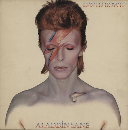 David Bowie Aladdin Sane - 1st - EX vinyl LP album (LP record) UK BOWLPAL654858