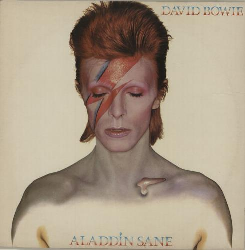 David Bowie Aladdin Sane - 2nd + insert - EX vinyl LP album (LP record) UK BOWLPAL307992