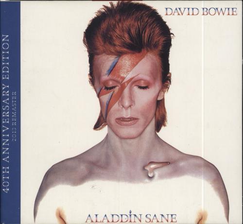 David Bowie Aladdin Sane - 40th Anniversary Edition CD album (CDLP) UK BOWCDAL647132
