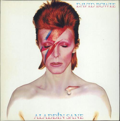 David Bowie Aladdin Sane vinyl LP album (LP record) UK BOWLPAL159559