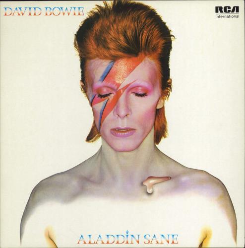 David Bowie Aladdin Sane vinyl LP album (LP record) UK BOWLPAL336803