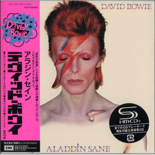David Bowie Aladdin Sane SHM CD Japanese BOWHMAL482697