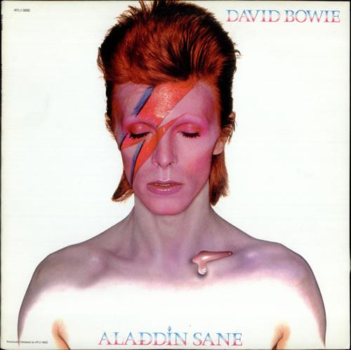 David Bowie Aladdin Sane vinyl LP album (LP record) US BOWLPAL523224