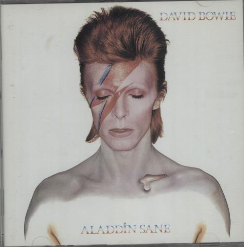 David Bowie Aladdin Sane CD album (CDLP) UK BOWCDAL666298