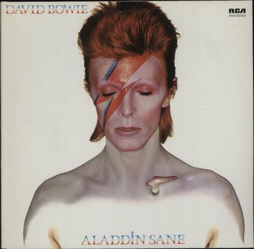 David Bowie Aladdin Sane vinyl LP album (LP record) German BOWLPAL678070