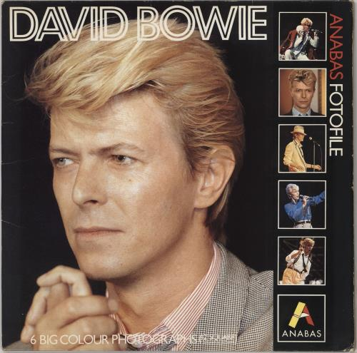 David Bowie Anabas Fotofile memorabilia UK BOWMMAN347478