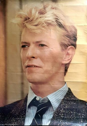 David Bowie Anabas Poster AA100 poster UK BOWPOAN753367
