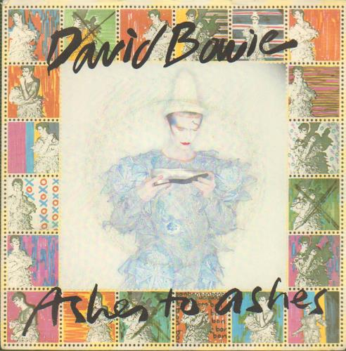 """David Bowie Ashes To Ashes - P/S B 7"""" vinyl single (7 inch record) UK BOW07AS656598"""
