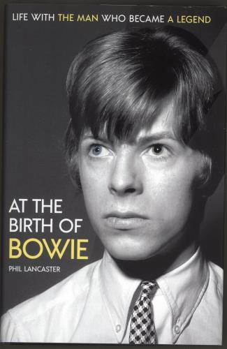 David Bowie At The Birth Of Bowie book UK BOWBKAT717127