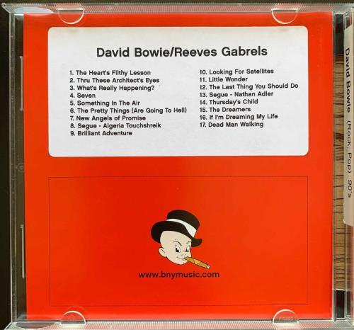 David Bowie Baby New Year Music Publishing CD album (CDLP) US BOWCDBA287360