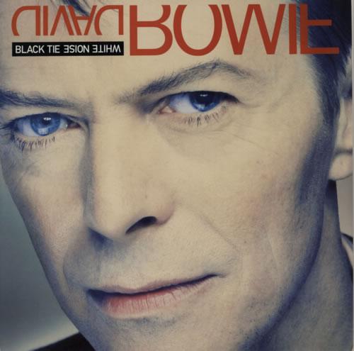 David Bowie Black Tie White Noise vinyl LP album (LP record) Dutch BOWLPBL302343