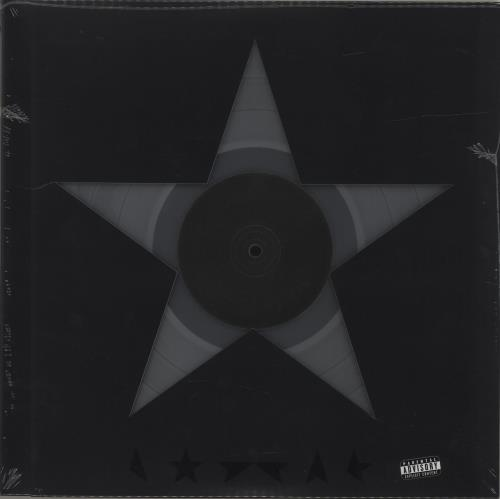 David Bowie Blackstar - 180gm Clear Vinyl + 3 Litho Prints vinyl LP album (LP record) US BOWLPBL684511