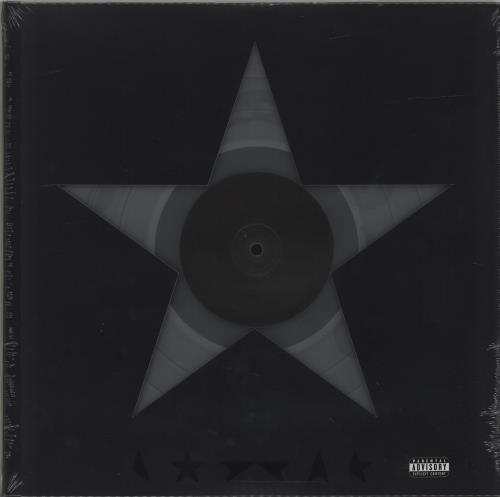 David Bowie Blackstar - 180gm Clear Vinyl - Sealed vinyl LP album (LP record) US BOWLPBL686457