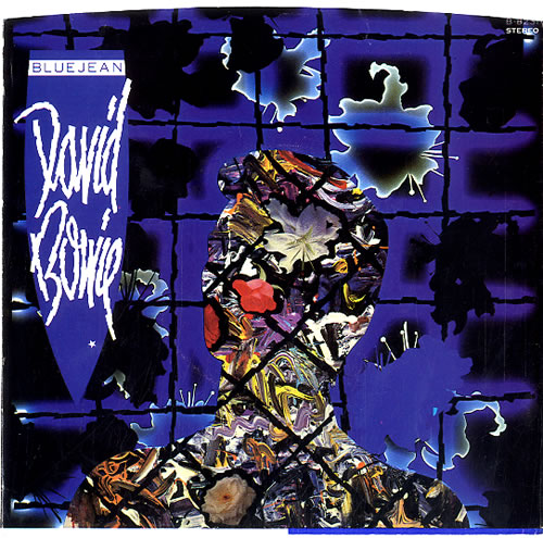 "David Bowie Blue Jean - Blue Vinyl 7"" vinyl single (7 inch record) US BOW07BL03869"