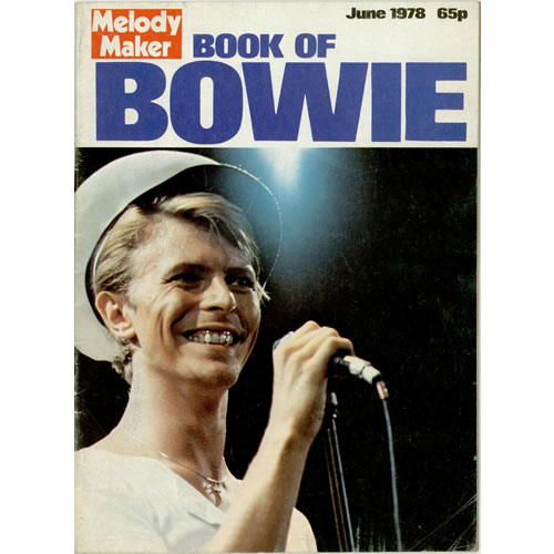 David Bowie Book Of Bowie - Melody Maker magazine UK BOWMABO149212