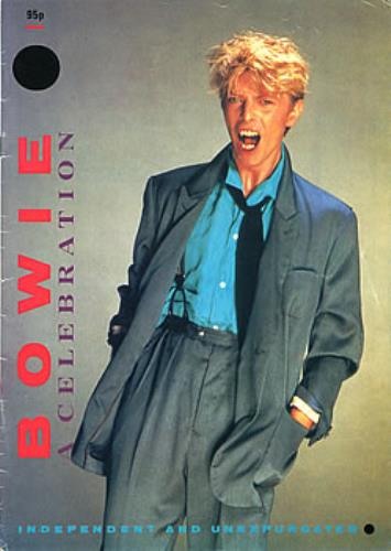 David Bowie Bowie - A Celebration magazine UK BOWMABO149213