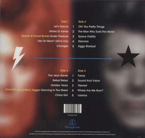 David Bowie Bowie Legacy - Sealed 2-LP vinyl record set (Double Album) UK BOW2LBO664363
