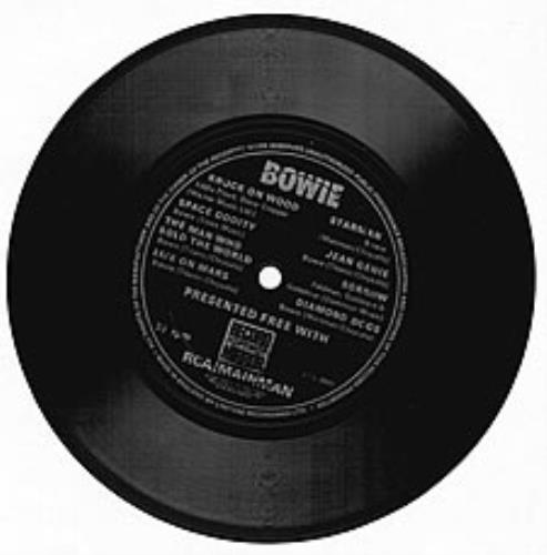 """David Bowie Bowie 7"""" vinyl single (7 inch record) UK BOW07BO116052"""