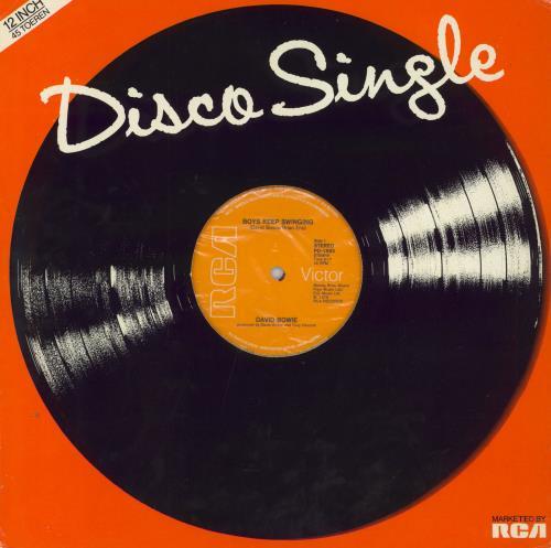 "David Bowie Boys Keep Swinging 12"" vinyl single (12 inch record / Maxi-single) Dutch BOW12BO115227"
