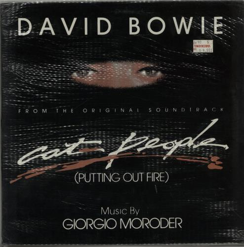 """David Bowie Cat People (Putting Out Fire) - Sealed 12"""" vinyl single (12 inch record / Maxi-single) UK BOW12CA650662"""