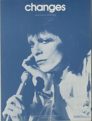 David Bowie Changes Us Sheet Music 650716 Sheet Music