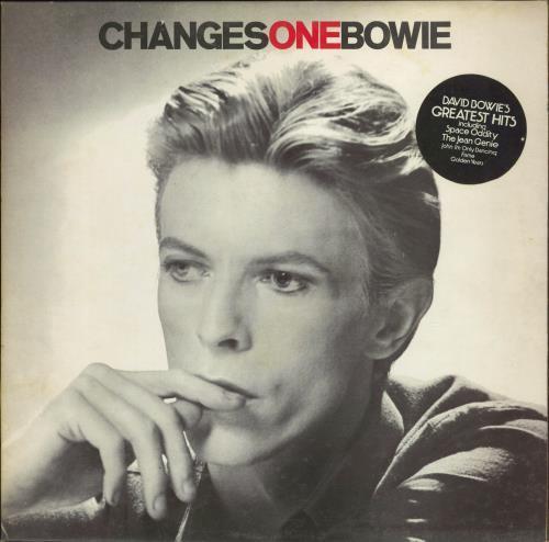 David Bowie Changesonebowie - 1st - stickered - EX - wos vinyl LP album (LP record) UK BOWLPCH773855