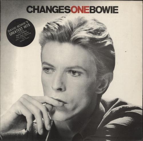 David Bowie Changesonebowie - 2nd + Stickered sleeve - EX vinyl LP album (LP record) UK BOWLPCH729667