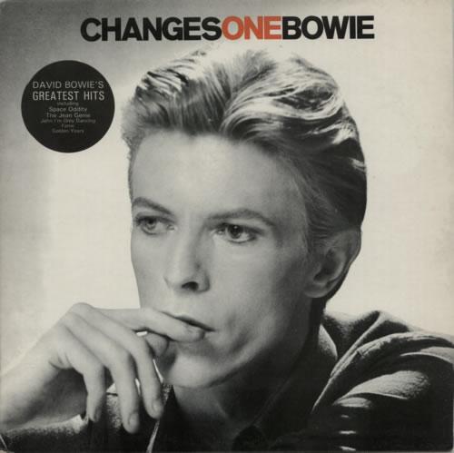 David Bowie Changesonebowie - 2nd + Stickered sleeve vinyl LP album (LP record) UK BOWLPCH615489