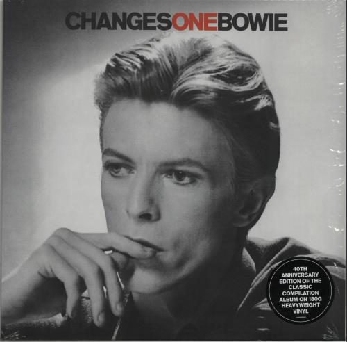David Bowie ChangesOneBowie - Black Vinyl + Shrink vinyl LP album (LP record) UK BOWLPCH653185