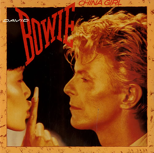 """David Bowie China Girl - Solid Centre 7"""" vinyl single (7 inch record) UK BOW07CH610098"""