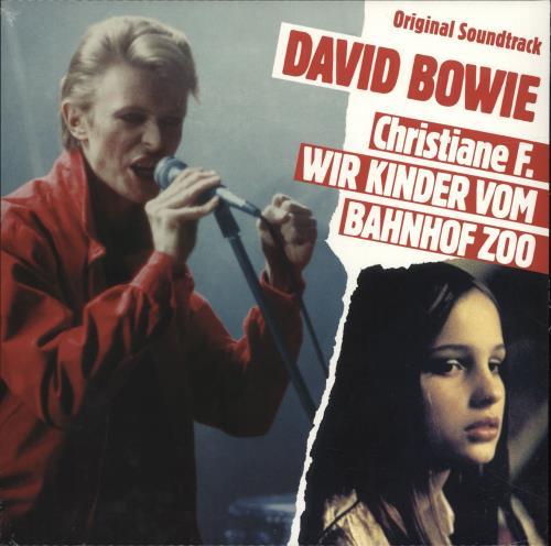 David Bowie Christiane F. Wir Kinder Vom Bahnof Zoo - Red Vinyl - Sealed vinyl LP album (LP record) UK BOWLPCH699010