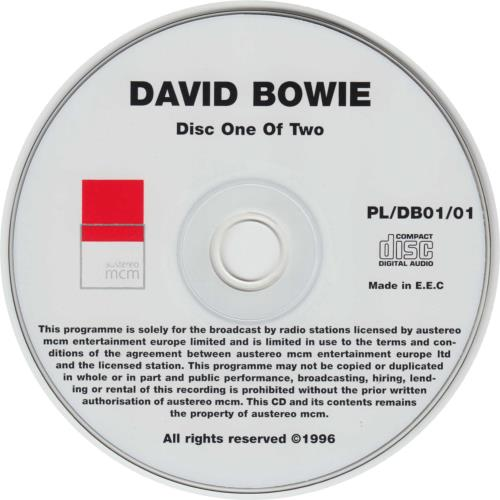 David Bowie Coca-Cola Planet Live 2 CD album set (Double CD) Austrian BOW2CCO145584