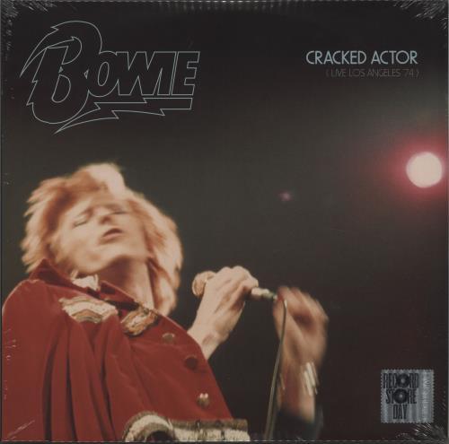David Bowie Cracked Actor (Live Los Angeles '74) - RSD17 - Sealed 3-LP vinyl record set (Triple Album) UK BOW3LCR671665