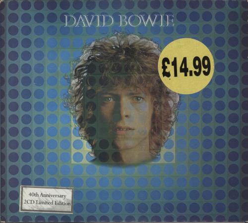 David Bowie David Bowie (Space Oddity) 2 CD album set (Double CD) UK BOW2CDA657597