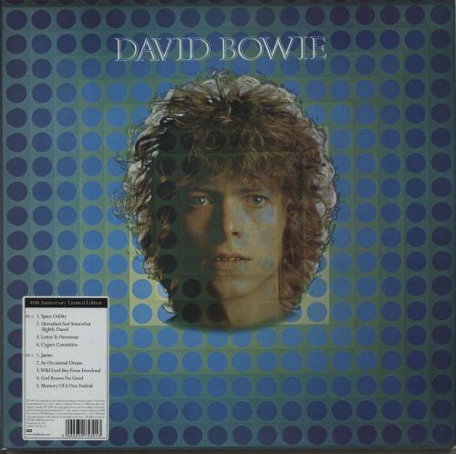 David Bowie David Bowie [Space Oddity] - Sealed vinyl LP album (LP record) UK BOWLPDA481469