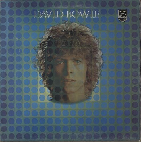 David Bowie David Bowie - EX vinyl LP album (LP record) UK BOWLPDA528501
