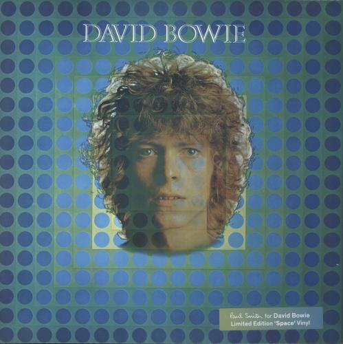 David Bowie David Bowie - Paul Smith 'Space' Vinyl vinyl LP album (LP record) UK BOWLPDA725435