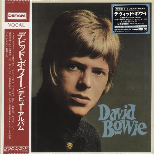 David Bowie David Bowie - RSD18 + Obi & Booklet 2-LP vinyl record set (Double Album) Japanese BOW2LDA698117