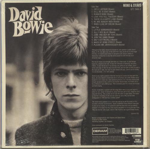 David Bowie David Bowie - RSD18 - Red + Blue Vinyl - Sealed 2-LP vinyl record set (Double Album) UK BOW2LDA695061