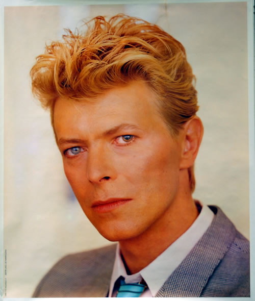 David Bowie David Bowie by Tom McGee poster UK BOWPODA631612