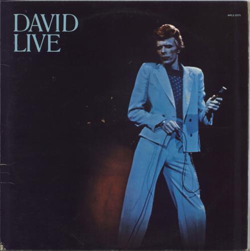 David Bowie David Live - 1st - EX 2-LP vinyl record set (Double Album) UK BOW2LDA303879