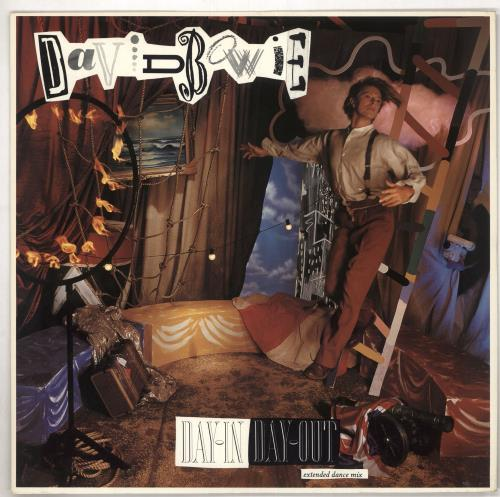 """David Bowie Day In Day Out 12"""" vinyl single (12 inch record / Maxi-single) UK BOW12DA18672"""