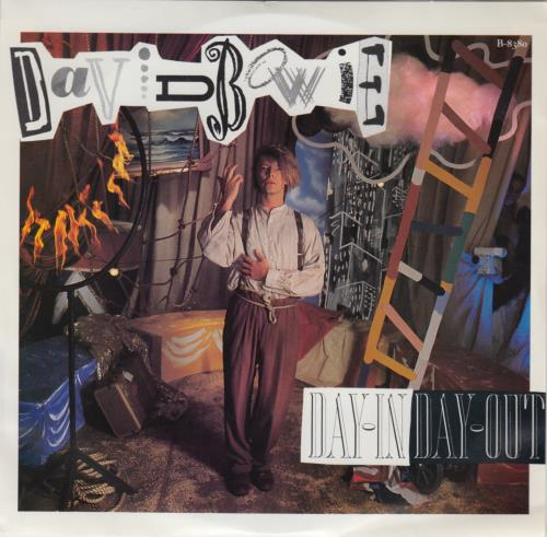 """David Bowie Day In Day Out 7"""" vinyl single (7 inch record) US BOW07DA650497"""