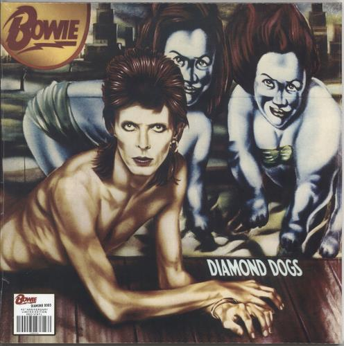 David Bowie Diamond Dogs - 180gram Red Vinyl - Sealed vinyl LP album (LP record) UK BOWLPDI721595