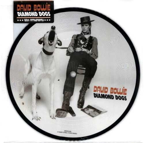 """David Bowie Diamond Dogs - 40th Anniversary Edition - Sealed 7"""" vinyl picture disc 7 inch picture disc single UK BOW7PDI606873"""