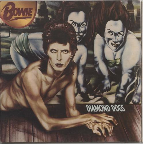 David Bowie Diamond Dogs - 4th vinyl LP album (LP record) UK BOWLPDI656939
